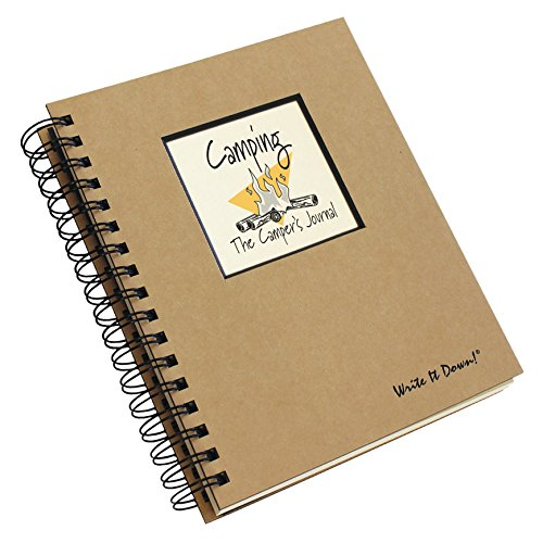 Camping, The Camper's Journal (Natural Brown) (Write It Down)