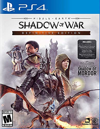 Middle-Earth: Shadow of War Definitive Edition - PlayStation 4 (Middle Earth Shadow Of War Pc Gold Edition)