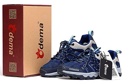 Men Outdoor Blue Navy Running Sport Hiking Sneaker Odema Mesh Shoes dga4nXdT