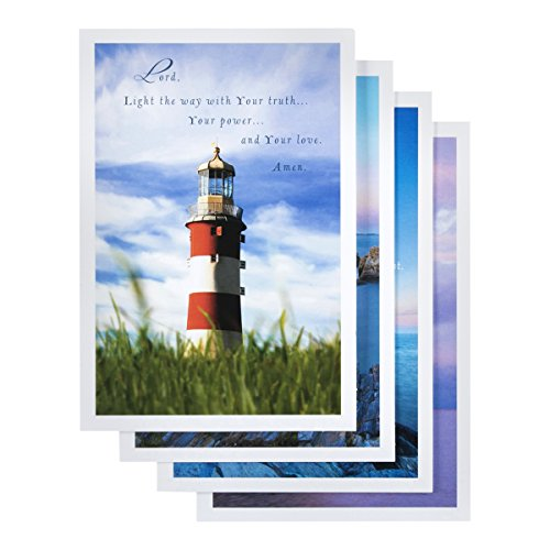 Praying For You - Inspirational Boxed Cards - Lighthouses