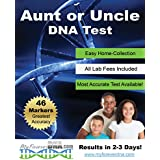 Aunt or Uncle DNA Test Kit ▪ Most Advanced & Accurate-46 DNA (Genetic) Marker Test ▪ All Lab Fees & Shipping Included ▪ Offered by My Forever DNA