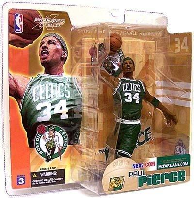 Paul Pierce #34 McFarlane NBA Series 3 Boston Celtics Green Uniform Action Figure