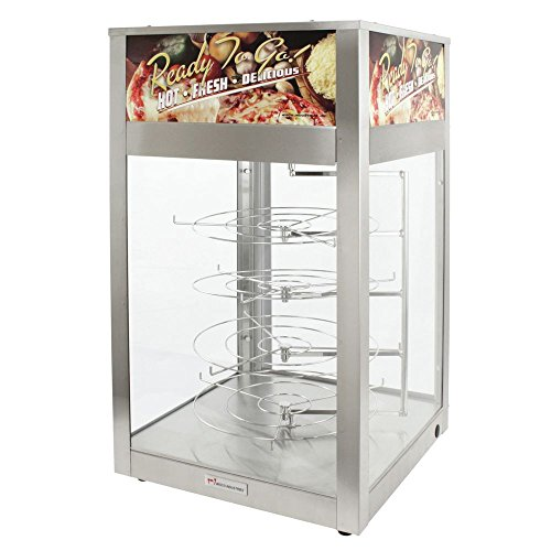 - Wisco 00695D-001 Humidified Pizza Cabinet with 4 Rotating Racks