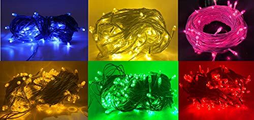 SINDASUN15meter140 LEDdiwaliLEDpure copperstring light50feetladistring rice lightforhome festive decoration color