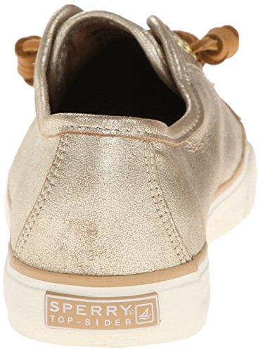Sperry Top-sider Seacoast, Damen Sneakers Platinum