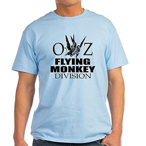 CafePress - OZ Flying Monkey Division Light T-Shirt - 100% Cotton T-Shirt - Back Music Light T-shirt