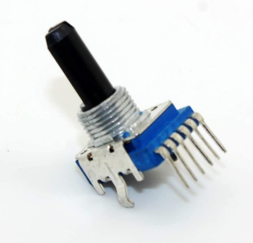 NO LOGO Potenci/ómetro Mezclador de Audio de Doble Canal de 6 Pines sin Logotipo 50K Ohm 103 B10K RK1114GH 10K 50K