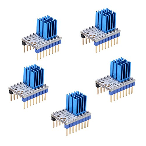 Baosity 5Pcs TMC2130 V1.0 Quiet Stepper Motor Driver With Heatsink for 3D Printer for sale