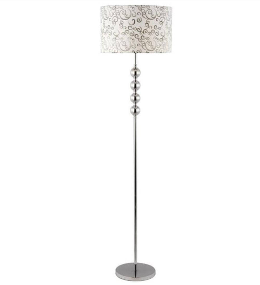 H&M Standleuchte Stehlampe Lesen Torchiere Stehleuchte Stoff ...