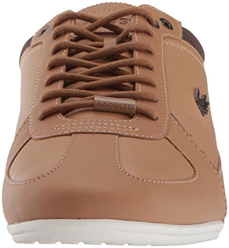 Lacoste Heren Evara Sneakers Ltbrw / Dkbrw Synthetische
