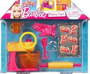Barbie - V3937 - Accesorios - Muñeca Mini y la muñeca - Barbie - Cocina y Pastelería