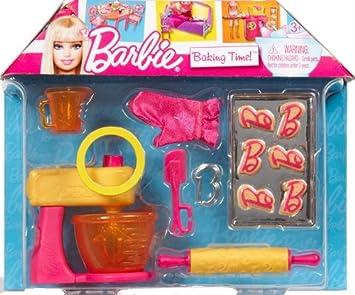 barbie v3937 accessoire pour poupe barbie cuisine et patisserie - Barbie Cuisine