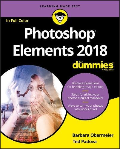 Photoshop Elements 2018 For Dummies (For Dummies (Computer/Tech)) cover