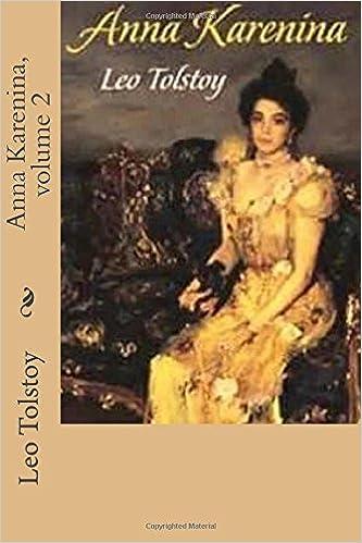 Amazon Anna Karenina Volume 2 9781542614917 Leo Tolstoy G