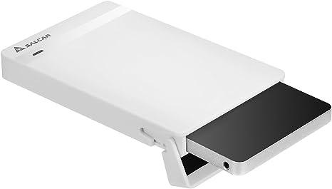 SALCAR Caja USB 3.0 para Discos Duros HDD SDD de 2.5