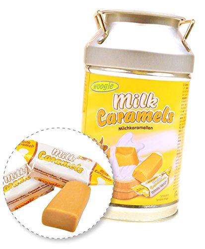 Bonbons Woogi Milchkaramellen-Kanne Spardose 250g
