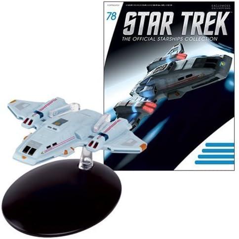 Star Trek Starships Voyager Aeroshuttle Die-Cast Vehicle with Collector Magazine #78