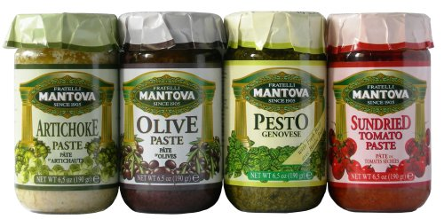 Mantova Italian Mix Pesto (4/6.5 oz Pack)