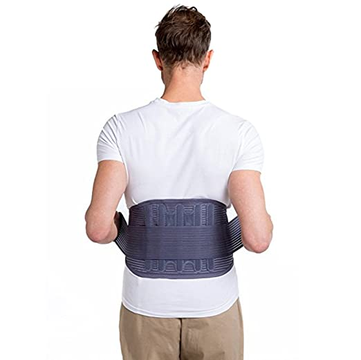 52eb2d82ee6 Amazon.com  Medical Elastic Waist Belt Workout Full Body Waist Bandage  Losing Weight Trainer Slim Belt  Sports   Outdoors