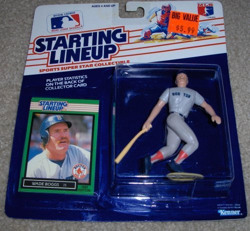 1989 Wade Boggs MLB Starting Lineup Figure ()