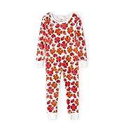 Aden + Anais Pajama Set, 2 Piece, 100% Cotton Sleepwear, Blossom, Size 12M