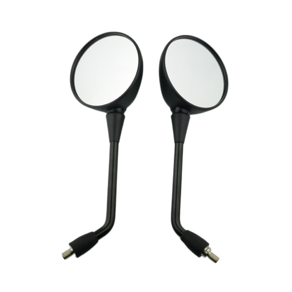 ABS Side Mirrors Motorcycle 8mm Black Left Right Rear view mirror For BMW R1200 GS Adventure 2007-2008 07 08