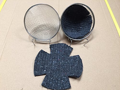 Mcage Bird Canary Finch Wire Nests With Felt Pad-Lot of 2 by Mcage