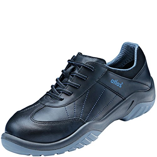 Alu-Tec 100 Blue Line protagonista, scarpe, S2 ENISO 20345/lavoro scarpe. Nero