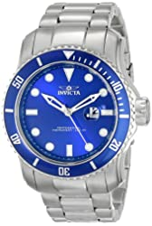 "Invicta Men's 15076 ""Pro Diver"" Stainless Steel Bracelet Watch"