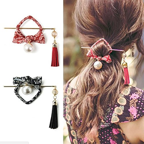 XDOBO 3 pieces Traditional Style WomenParty Hair Stick Hairpin, Hair Updo Bun Cover Cap with Stick,Exquisite Hair Accessory, vintage headdress hairpin accessories Chinese for women girl lady
