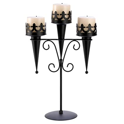 Amazoncom Tom Co 20 Wholesale Medieval Triple Candle Stand
