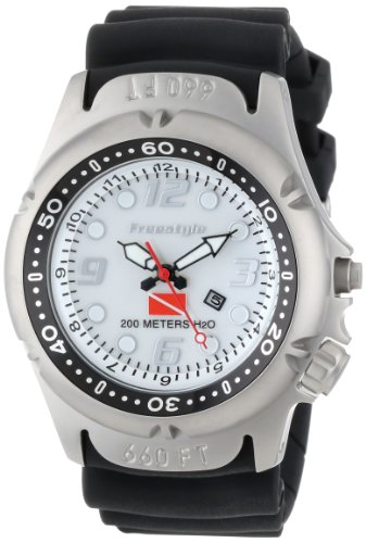 Watch Hammerhead Dive (Freestyle Men's 'Dive' Quartz Resin and Polyurethane Sport Watch, Color:Black (Model: 101948))