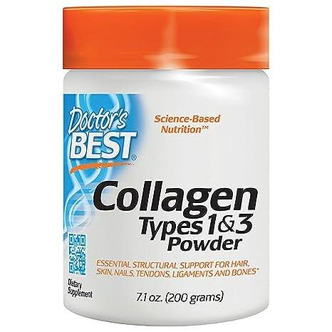 Mejores colágeno, tipos 1 y 3, en polvo, 7.1 oz (200 g