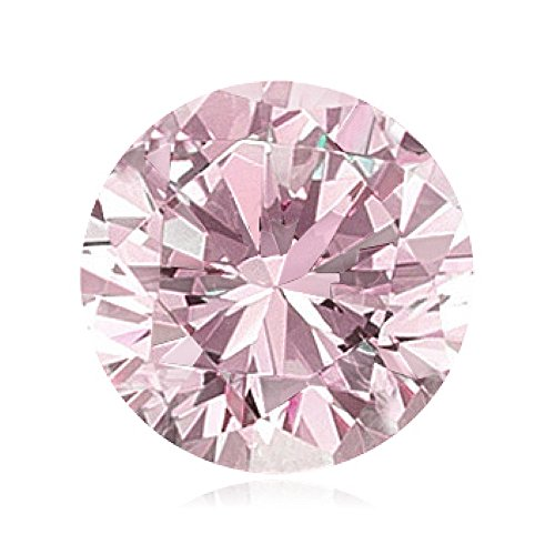 0.01 Cts of 1.3-1.4 mm SI Brilliant Round ( 1 pc ) Loose Natural Fancy Pink Diamond