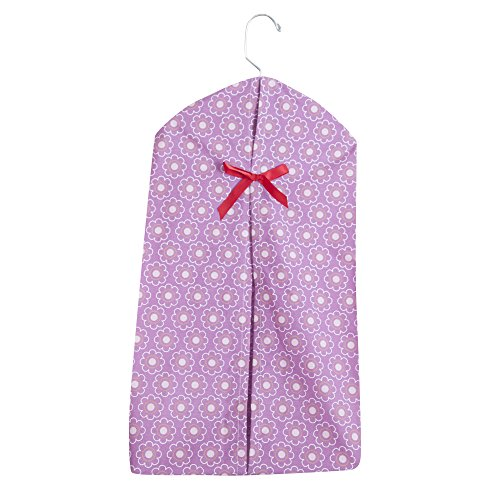 Bedtime Originals Lavender Woods Diaper Stacker - Baby Diaper Stacker