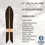 16-17 TT SNOWSURF design スノーボード BARRACUDA 158.6 バラクーダ GENTEMSTICK ゲンテンスティック パウダーボード