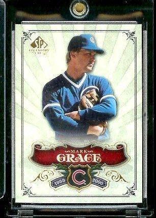 2006 Upper Deck SP Legendary Cuts # 52 Mark Grace - Chicago Cubs - Baseball Trading Card ()
