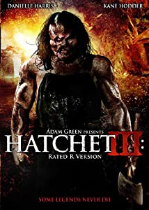 amazoncom hatchet iii rated version danielle harris