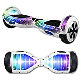 MightySkins Protective Vinyl Skin Decal for Hover Board Self Balancing Scooter mini 2 wheel x1 razor wrap cover sticker Music Man