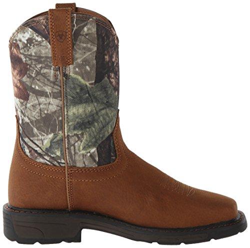 Teen voor Square Bark camo Ariat Workhog aged Cowboylaarzen Male kinderen Camouflage Wide vFXYqExqw