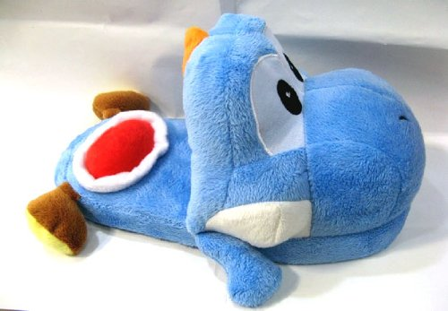 Super Mario Brothers : Yoshi Slippers (Blue) (Yoshi Mario Brothers)