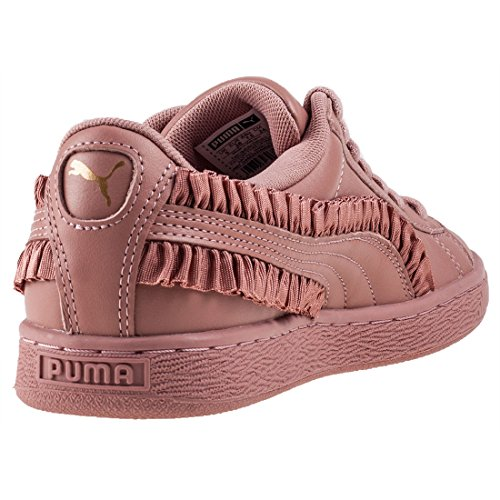 Puma Basket Classic Frill Femme Baskets Mode Rose