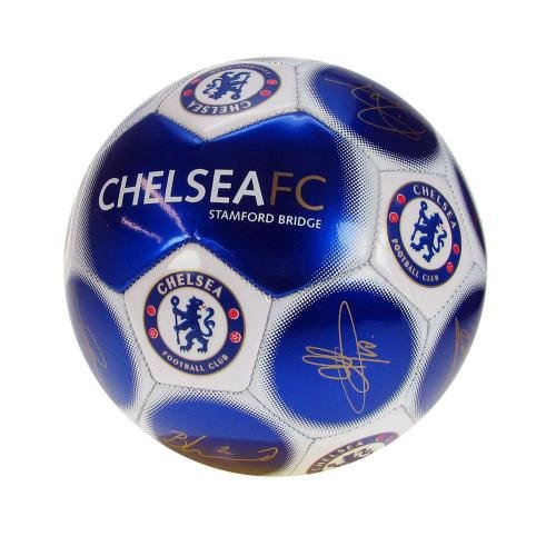 Size 1 Mini Chelsea Signature Football (Jersey White Signature Football)