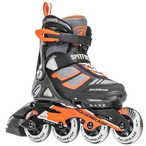 rollerblade-spitfire-lx-kids-4-full-sizes-inline-skates-black-orange-adjustable-size-2-to-5
