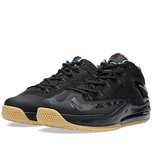 Nike Max Lebron Xi Basso Nero / Iper Crmsn-iper Cobalto