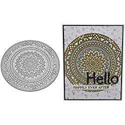 HIKO23 Die Cuts, Metal Cutting Dies Stencils DIY Scrapbooking Photo Album Paper Card Gift