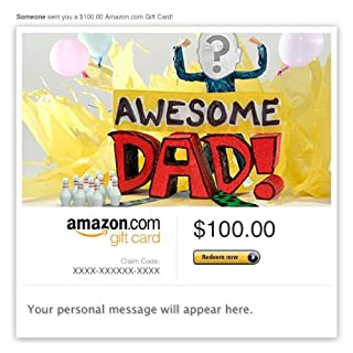 Amazon Video Gift Card - E-mail - Dad, You're the Bomb (B009I1Z6OM) | Amazon price tracker / tracking, Amazon price history charts, Amazon price watches, Amazon price drop alerts