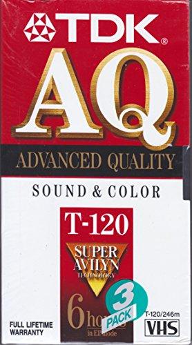 TDK 120 min VHS Video Cassette ()