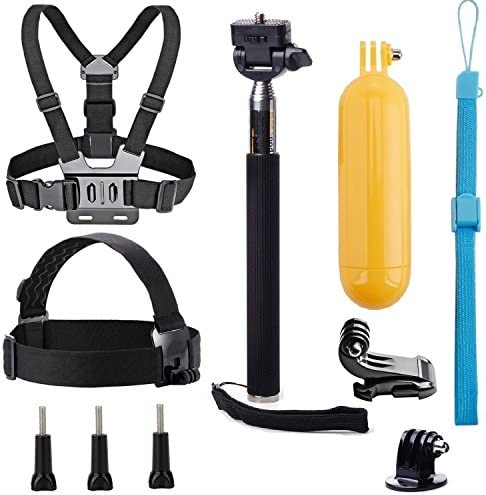 Navitech Waterproof Action Camera Floating Hand Tripod Mount /& Floating Handle Grip Compatible with The TCL SVC200TechCode 1920 1080P Tenswall Touchscreen 4K