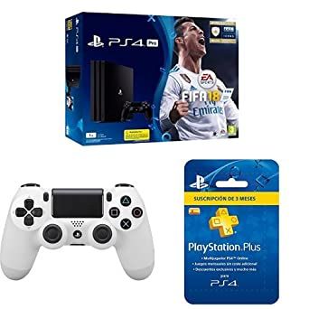 PlayStation 4 Pro (PS4) - Consola de 1 TB + FIFA 18 + Sony